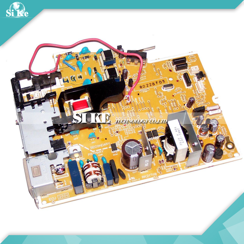 LaserJet  Engine Control Power Board For HP P1005 P1006 P1007 RM1-4602 RM1-4601 1005 1006 1007 1008 Voltage Power Supply Board repalce paper roller kit for hp laserjet laserjet p1005 6 7 8 m1212 3 4 6 p1102 m1132 6 rl1 1442 rl1 1442 000 rc2 1048 rm1 4006
