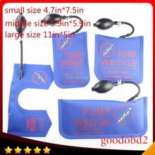 Professional Lock Pick Diagnostic Tool KLOM pump Air wedge airbag LOCKSMITH TOOLS unlock vehicle car door tool 4pcs/lot blue
