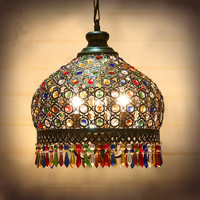 LED Chandelier Lighting Vintage Chandeliers Kitchen Light Fixtures Metal+Crystal Lampshade Free Shipping
