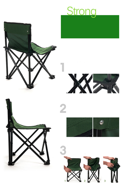 High Quality Outdoor Camouflage Foldable Chair 6
