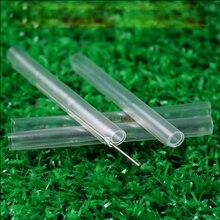 Ftthドロップ光ファイバーフュージョンスプライス保護スリーブ60ミリメートル屋内配線繊維ケーブル 500ピース