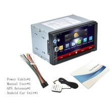 2017 RK-A702 Profesional 7 Pulgadas HD 1080 P 1024*600 Pantalla Capacitiva Función de DVD Del Coche Reproductor de MP3 Construido En Bluetooth