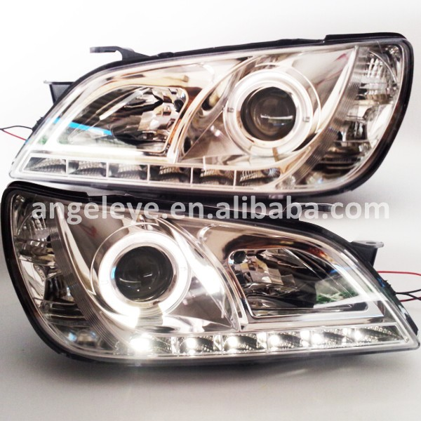 1998-2005 Year For Lexus IS200 IS300 LED Headlight Chrome Housing SN цена 2017