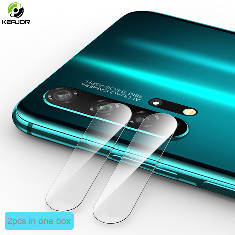 2pcs Tempered Glass For Huawei Honor 20 Pro Back Camera Protective Glass Phone Lens Screen Protector Film For Honor 20Pro Glass
