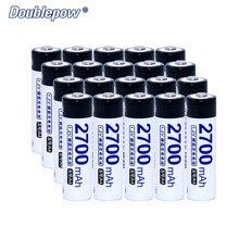 20 шт./лот doublepow dp-2700ma 1.2 В 2700ma Ni-MH Перезаряжаемые Батарея фактические высокое Ёмкость Батарея ячейки 2700ma Бесплатная доставка