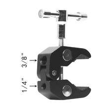 Super Crab Clamp Articulating Pliers Clip For Camera Monitor Mount Holder Stand Arm Clip