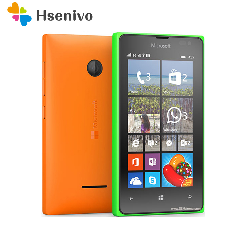 100% Original Unlocked Microsoft Lumia 435 Dual-core 8GB ROM 1GB RAM Mobile Phone 4.0