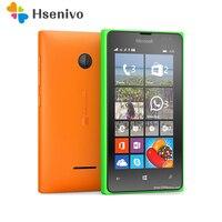100% Original Unlocked Microsoft Lumia 435 Dual-core 8GB ROM 1GB RAM mobile phone 4.0