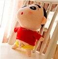 "Free Shipping 1pcs 20cm=7.8"" Naughty Crayon Shin Chan Stuffed Plush Doll Japanese Anime Shin-chan Action Figure For Best Gift"