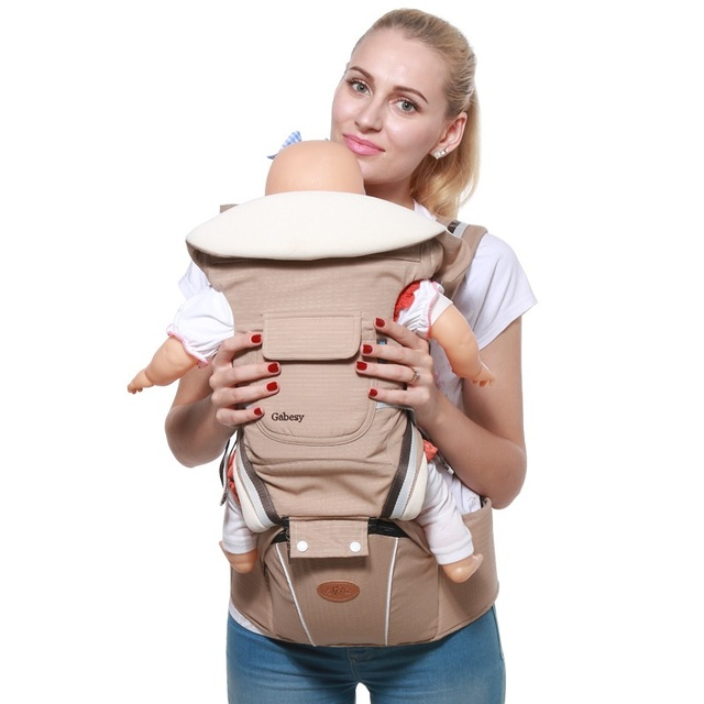 3-36 Months Best Baby Carrier for New Born Ergonomic 360 Infant Carrier  Multifunction Fashion Baby Backpack for Winter Summer