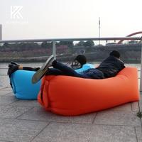 lazy bag laybag lay bag sleeping bag fast inflatable camping air sofa sleeping beach bed banana