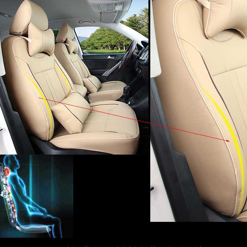 CARTAILOR รถที่นั่งสำหรับ BMW x5 รถที่นั่งครอบคลุมสีดำ PU หนังเบาะที่นั่งอัตโนมัติที่นั่งป้องกัน