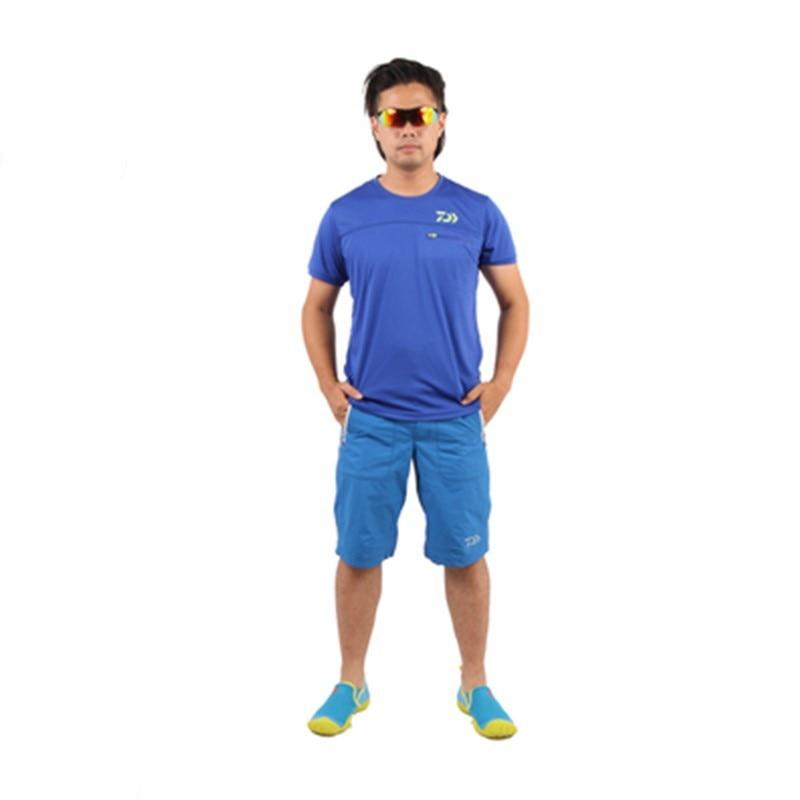 2017 NEW DAIWA Fishing clothes Short Sunscreen sleeve Breathable summer Anti-UV outdoors pants DAWA suit DAIWAS Free shipping
