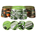 Boxer New Army For Men Boy Underwear Pants Hot Military Camouflage