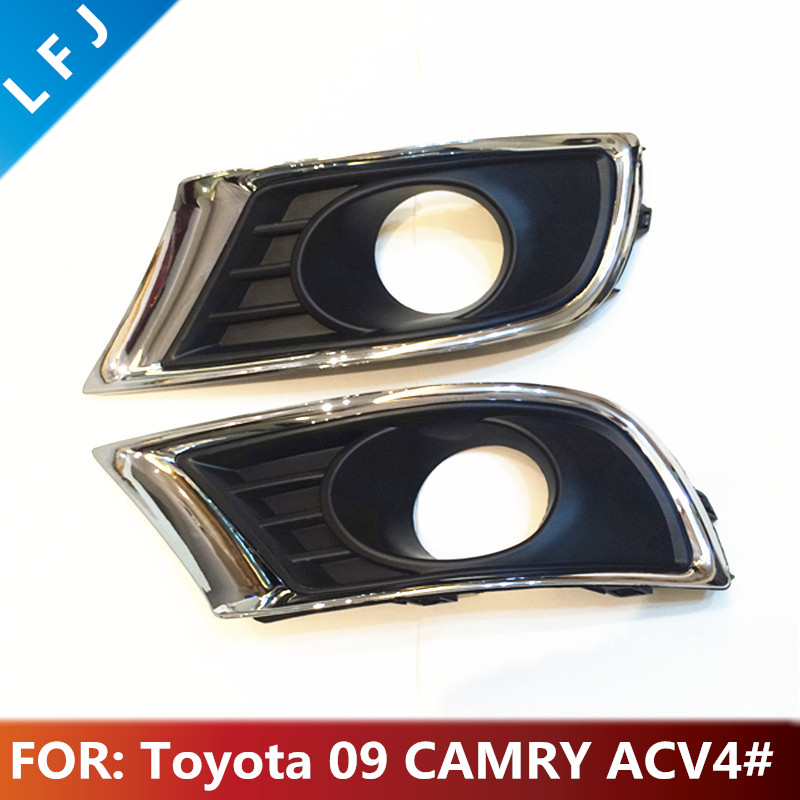 Fog Light Cover for Toyota 09 CAMRY ACV4# 52128-06620 52127-06620 Car Auto Parts Bumper Fog Light Bezel Cover LH&RH universal pu leather car seat covers for toyota corolla camry rav4 auris prius yalis avensis suv auto accessories car sticks