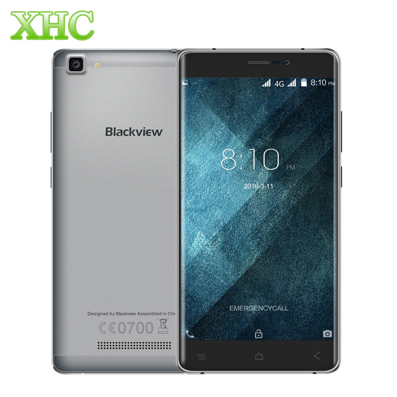 Blackview A8 Max 16GB 4G FDD 5.5'' Android 6.0 Smartphone MTK6737 Quad Core 1.3GHz RAM 2GB Dual SIM 3000mAh Smart Phone