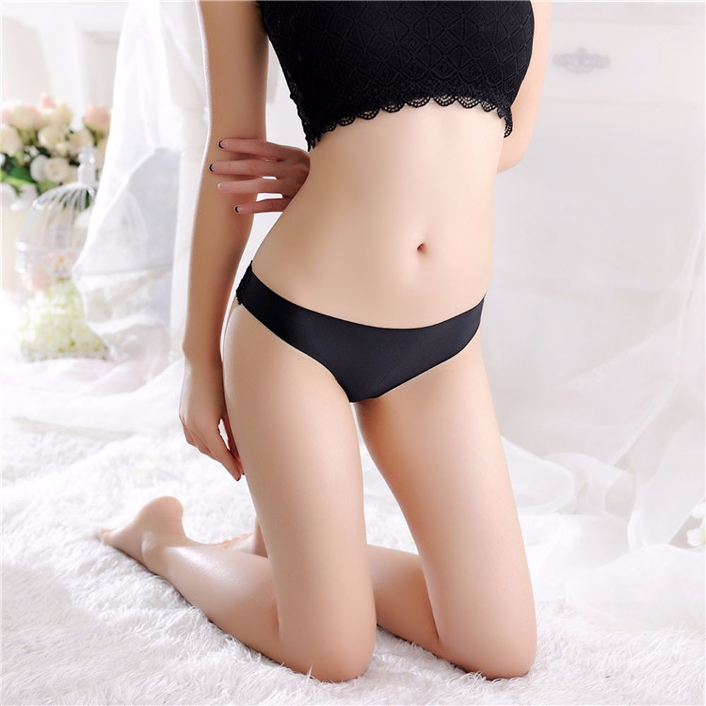 CHAMSGEND Women Sexy Lace Briefs   Panties   Thongs G-string Lingerie Underwear Women Sexy Seamless Underwears C300130