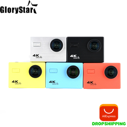 Mini Camera F71R Action Camera Digital 4K WiFi 1080P HD Sports DV 30M Waterproof Diving with Wide Angle Lens