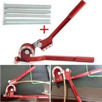Mayitr 3in1 Pipe Bender 180 Degree Tube Bender With 5pcs 210mm Spring Bending Tubes For Plumbing