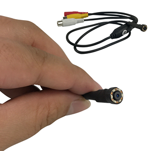 Image 1 - Камера видеонаблюдения Sony 1/3 CCD 1000TVL 3,6 мм с широким углом обзора 6 шт. IR LED D/N с широким объективом 90 градусов Mini HD