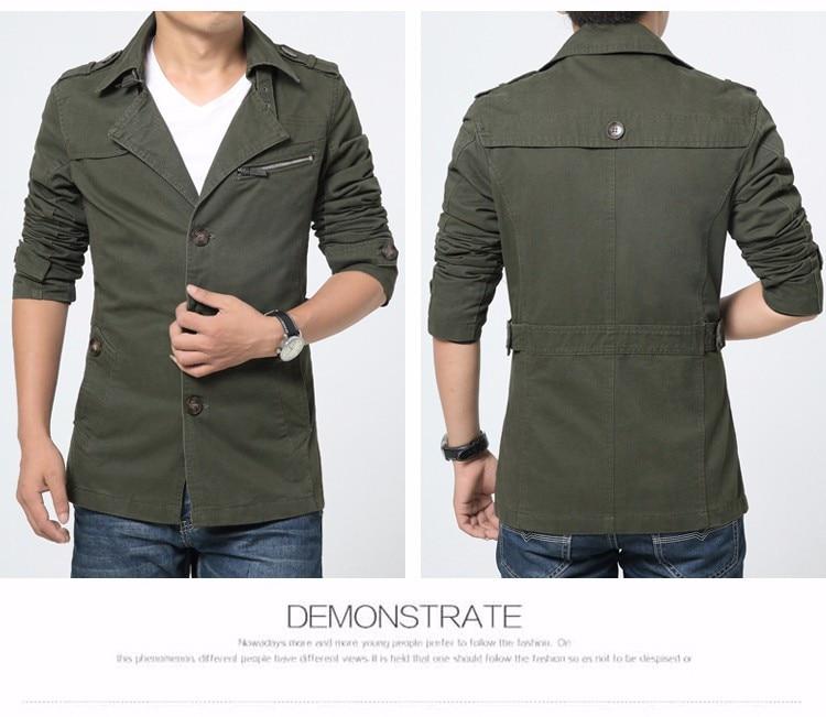 HCXY 2019 Autumn winter Fashion Men's Windbreaker warm Men Jackets thick Jacket Full cotton Plus velvet Coat Male 5XL