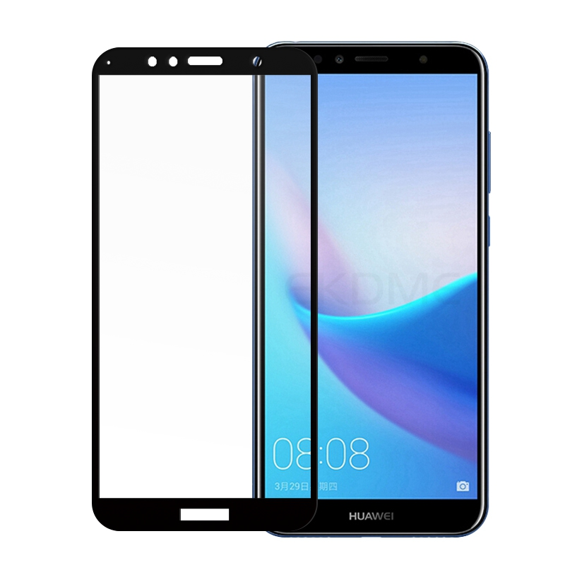 Full Cover Tempered Glass For Huawei Honor 7C Pro 7C 5.7inch AUM-L4 7S Y6 Prime 2018 Screen Protector For Honor 7A AUM-L29 Glass