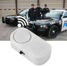 Self-adhesive Wireless Magnetic Sensor Burglar Door Window Entry Alarm Super loud 90 dB Alarm with Stick & LR44 Button Cell