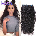 Iwish 7A Good Price Brazilian Water Wave Virgin Hair 4Pcs Brazilian Human Hair Brazilian Virgin Hair Bundle Deals Water Wave
