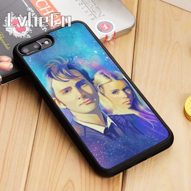 Fine Lvhecn Tenth Doctor And Rose Tyler Dr Who Phone Case Cover For Iphone 5 5s Se 6 6s 7 8 10 X Samsung Galaxy S6 S7 Edge S8 S9 Plus Exquisite Workmanship In
