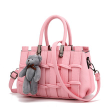 MONNET CAUTHY Female Bags Concise Sweet Lady Leisure Fashion Crossbody Totes Solid Color Lavender Pink Grey Black White Handbags