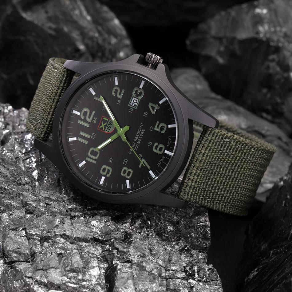 90a10a7629b Relógios de marca Mens Fashion Data Horas relogio masculino barato ...