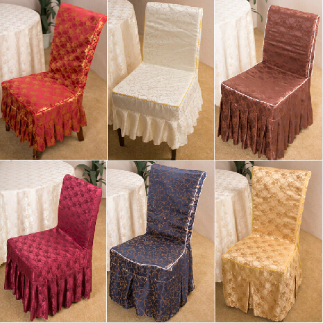 chair cover wedding decoration romantic banquet party decor chair