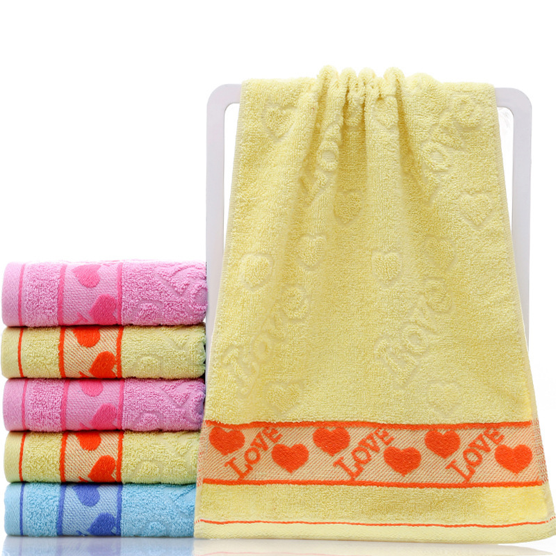 Cotton Hair Bath Face Towels Hand Towel Camping Swiming Pink Dorm Room Washandjes Carrello Spiaggia Thickening Washcloth
