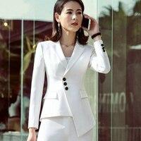 New Career Fashion Women Long Sleeve Blazer Elegant Plus Size Formal Slim Jackets Office Ladies Blazer Feminine Work Wear Jacket