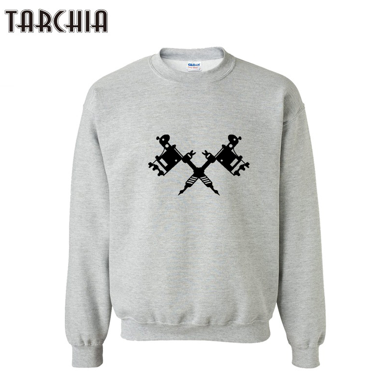 TARCHIA 2018 Printed Pullovers Long Sleeve Brand Clothing Sweatshirt Sweat Fashion Trend Streetwear Men Hoodies Tops