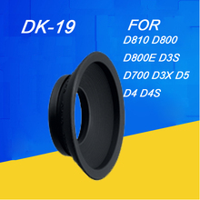 DK 19 peça de olho de borracha para nikon, peça para olhos para nikon df d2x d2h d3 d3s «d4» d700 d800 d800e d810 dslr borracha para câmera dk19, acessórios para câmera