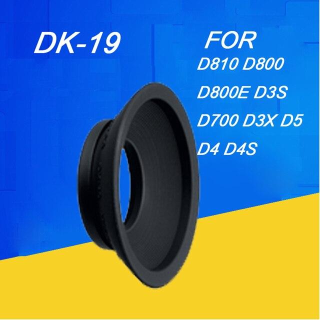 Dk 19ยางEyecupชิ้นตาสำหรับNIKON df D2X D2H D3 D3S D3X D4 D4S D700 D800 D800E D810 Dslrอุปกรณ์กล้องDK19ยาง