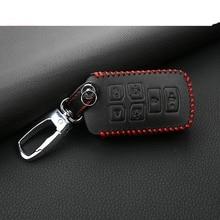 lsrtw2017 car styling cowl leather key bag for toyota sienna 2011-2019 XL30