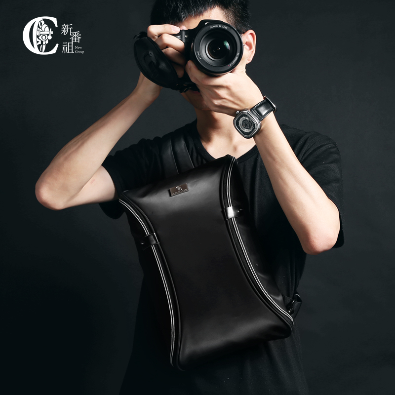 Camera Video Bag Digital DSLR SLR  Bag Men Messenger Bags Small Travel CrossBody Shoulder bag for man bagsmart dslr slr camera shoulder bag water repellent polyester with rain cover green grey black