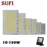 1 Uds. Reflector LED de potencia completa PCB 10W 20W 30W 50W 100W 150W SMD2835 LED PCB placa de aluminio para reflector led