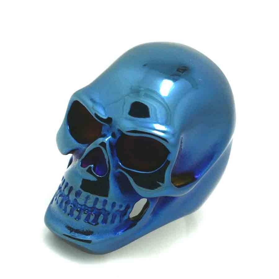 Purple Skull High Heels