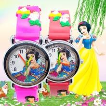 Luxury Girl Watch for children Students Clock Women Watches for kids baby birthday gift cartoon princess child quartz wristwatch цена