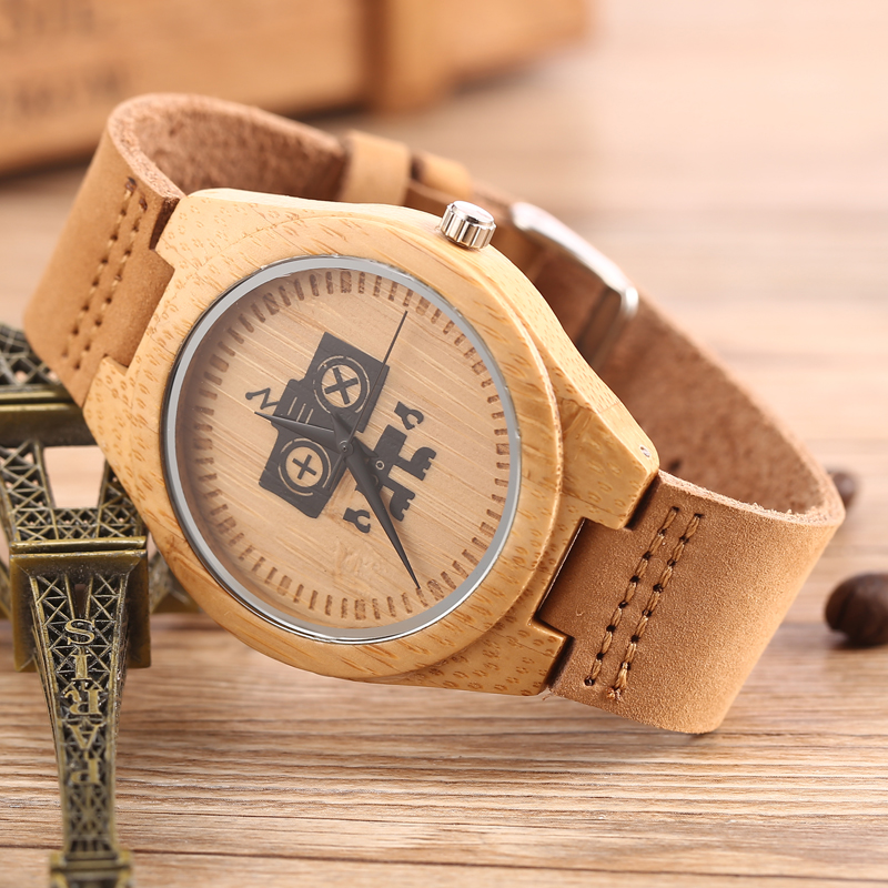 GORBEN New Arrival Wood Watch Mens Womens Designer Wa %