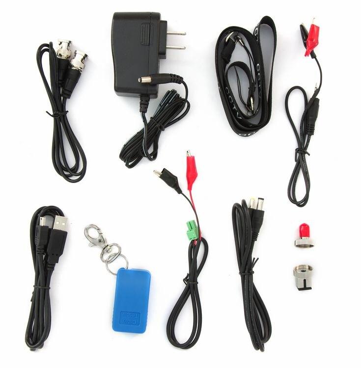 CCTV Tester with Optical power meter,Video screen shot,Video recording,Internal memory(8G),PTZ control, PTZ address auto recogns