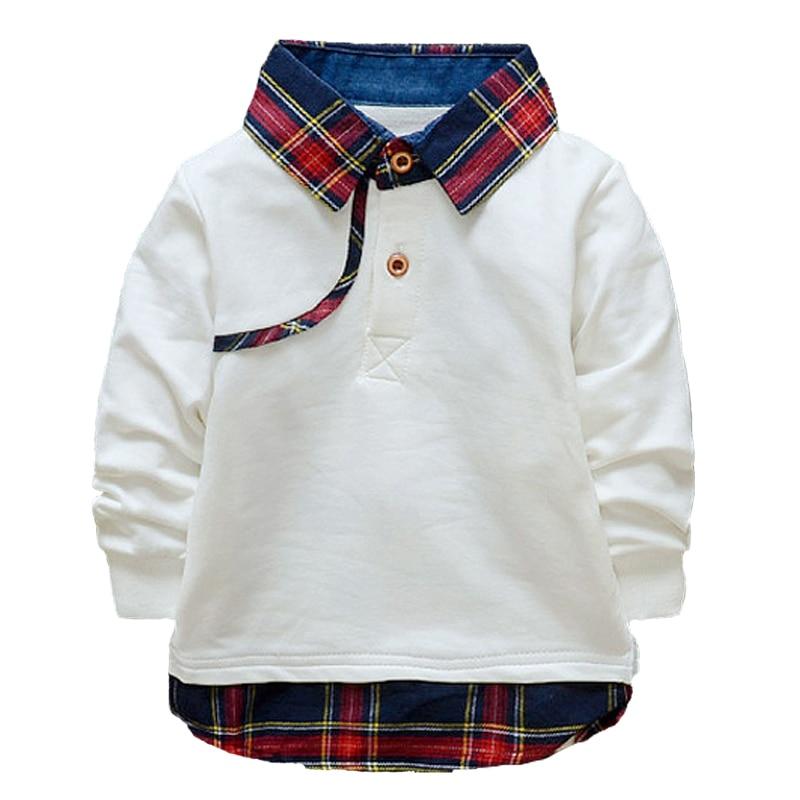 New 2016 Spring Autumn Baby Boys Clothes Kids Cotton