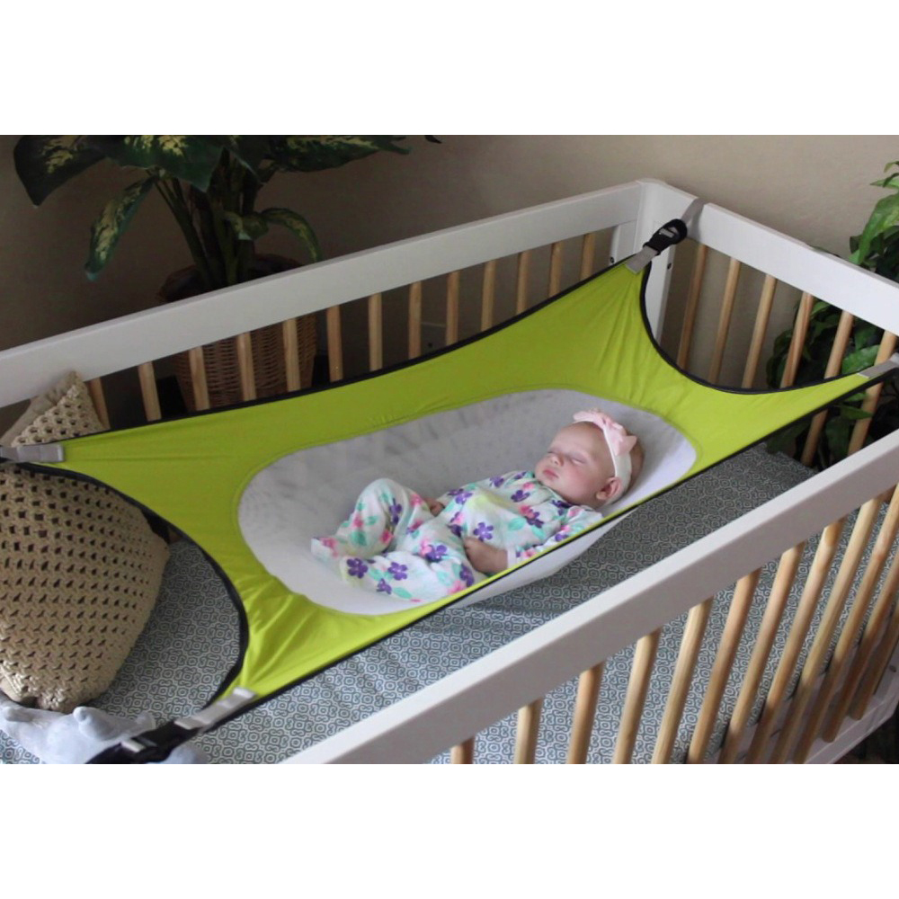 Infants Hammock Baby Garden Swings Cartoon Detachable Adjustable Protable Folding Crib Cotton Newborn Sleeping Bed Outdoor