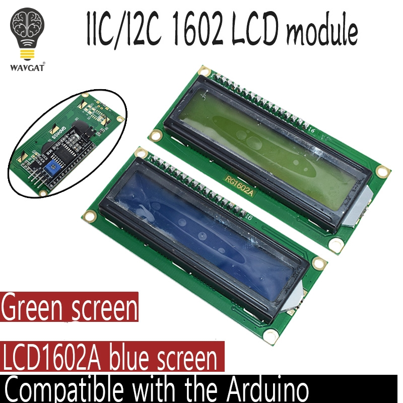 1PCS LCD Module Blue Screen IIC/I2C For Arduino 1602 UNO R3