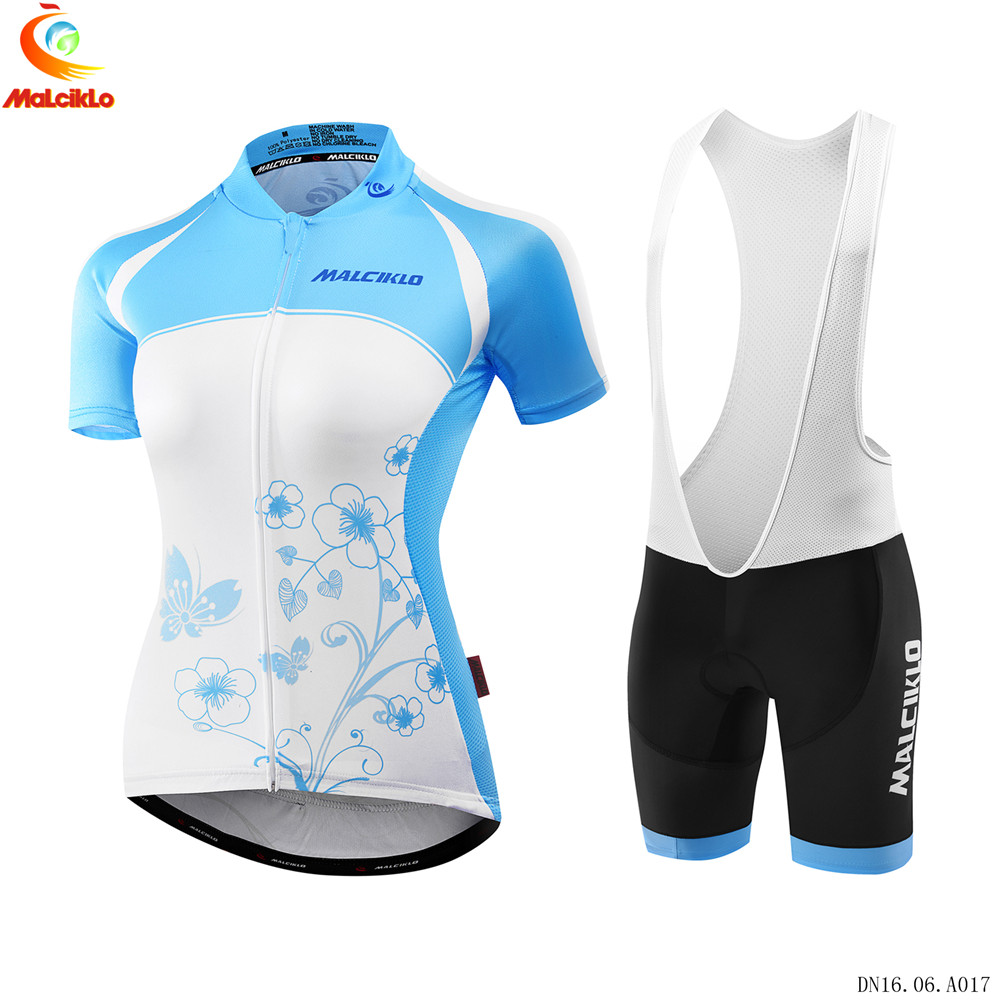MALCIKLO Team Cycling Jerseys Women Breathable /Quick-Dry Ropa Ciclismo Short Sleeve Bike Clothes /Cycling Clothing Sportswear malciklo team cycling jerseys women breathable quick dry ropa ciclismo short sleeve bike clothes cycling clothing sportswear