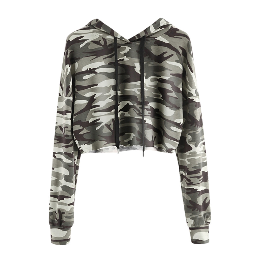 Women's Clothing Flight Tracker Fashion Womens Hoodie Polyester Casual Sport Printed Standard Appliques Broadcloth Camouflage Hoodie Fashion Tracksuit To Win Warm Praise From Customers