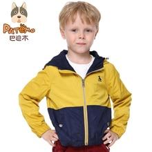 PATEMO Jacket for Boy Hooded Child Coat Boy Bomber Jacket Windbreaker Children Outwear Autumn Kid US Size Size 4T,5T,6T,8T,10T